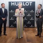 Пресс-волл мероприятие журнала Haute Living Шэрон Стоун 2017