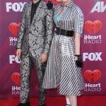 Пресс-волл фотозона музыкальная премия iHeartRadio Music Awards Кэти Перри и Zedd Лос-Анджелес США 2019