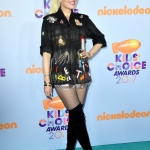 Пресс-волл премия Kids Choice Awards Гвен Стефани 2017