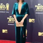 Пресс-волл премия MTV Movie & TV Awards 2018 Оливия Манн Санта-Моника США 2018