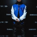 Пресс-волл презентация Samsung Galaxy S8 Мот 2017