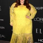 Пресс-волл фотозона вечеринка Women in Hollywood журнала Elle Тесс Холлидей Лос-Анджелес США 2018