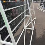 Изготовление Пресс Волла уличного усиленного из металла с меловой доской PressWall Outdoor  ВместеЯрче пример 4457