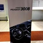 Изготовление ролл-апп на заказ roll up Пежо 3008 Москва Major Auto Москва 2017