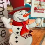 Изготовление ростовых фигур на заказ из пластика новогоднее оформление Снеговик Москва 2017