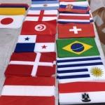 Изготовление гирлянд из флажков флажная лента из ткани на заказ РостАрт Москва 2018 15981
