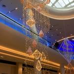 Световое светодиодное оформление изготовление металлических конструкций к Новому Году Торговый центр Москва 2017