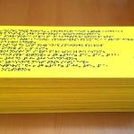 Изготовление тактильных табличек с дублированием шрифта Брайль уф-печать с белилами РостАрт Москва 2018 3516