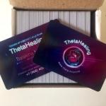 Изготовление визиток из пластика дисконтных карт РостАрт Москва 2017