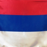 Изготовление флагов на заказ печать флагов флаг России двусторонний печать на атласе для Префектуры г Москвы РостАрт Москва 2018 8902