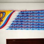 Печать флагов на заказ печать на ткани отрисовка макета флага РостАрт Москва 2016 101