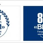 Изготовление корпоративных флагов на заказ для юбилея ФГУП ВИАМ полноцветная печать дизайнерские услуги РостАрт Москва 2017