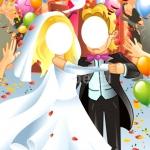Изготовление пресс-волла на заказ для свадьбы тантамареска Москва 2017