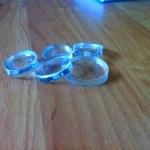 Лазерная резка акрилового стекла пластика на заказ РостАрт 2015
