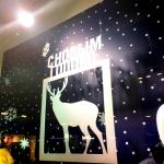 Фрезерная резка лазерная резка пластика оформление магазинов к Новому году Москва 2017