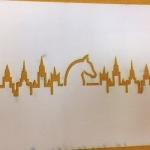 Лазерная резка трафаретов лазерная резка пластика подготовка макета к резке РостАрт Москва 2017 7011