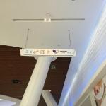 Лазерная резка акрила (пластика) для внутренней навигации торгового центра Ривьера пример 221 2016год