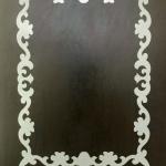 Изготовление трафарета для дизайнерской покраски рамка из пластика РостАрт Москва 6904