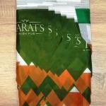 Изготовление гирлянд из флажков из ткани печать на ткани для ирландского паба в Москве РостАрт Москва 2017 8381