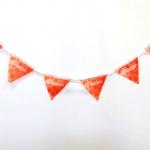 Изготовление флажной ленты на заказ из ткани полноцветная печать флажков на ткани гирлянда из флажков РостАрт Москва 2017