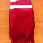Изготовление гирлянд из флажков на заказ одноцветные флажная лента на заказ РостАрт Москва 2018 15990