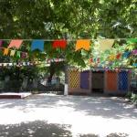 Гирлянда из флажков из ткани флажная лента для детского садика РостАрт Москва 2019 26410