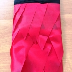 Изготовление гирлянд из флажков флажной ленты из тканина заказ однотонная РостАрт 2019 28564