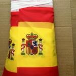 Изготовление гирлянд из флажков флажной ленты из ткани печать на ткани гирлянда из флагов РостАрт 2019 28956