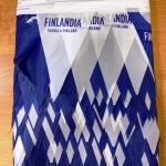Изготовление гирлянд из флажков из ткани флажная лента печать на ткани печать флагов Москва РостАрт 2019 29902