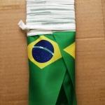 Изготовление гирлянд из флажков флажной ленты из ткани печать на ткани гирлянда из флагов Бразилия РостАрт 2019