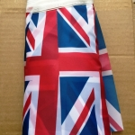 Изготовление гирлянд из флажков флажной ленты из ткани печать на ткани гирлянда из флагов Великобритания РостАрт 2019