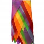 гирлянда флажки разноцветная рулон РостАрт Москва 2020