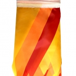 Гирлянда флажки три цвета сонце желтый оранжевый красный рулон РостАрт Москва 2020