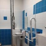 Монтажные работы Оборудование туалетной комнаты по программе Доступная среда для МГН РостАрт Москва 2017