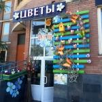 Благоустройство озеление поставка цветов пример Москва 2017