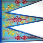 Печать флагов на заказ печать на ткани отрисовка макета флага для РПЦ РостАрт Москва 2016 100