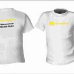 Разработка дизайна нанесение на футболки печать на футболках РостАрт Москва 2018