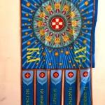 Изготовление флагов комплект 50 на заказ отрисовка макетов флагов печать на ткани резка термоножом РостАрт Москва 2018 2110
