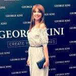 Пресс-волл презентация George Kini певица Согдиана Москва 2017