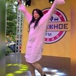 Пресс-волл фотозона интерьерная печать 15-летие радиостанции Дорожное Радио Лолита Москва 2018