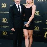 Пресс-волл вечеринка 20-летие бренда Антонио Бандерас Наталья Рудова 2018