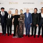 Пресс-волл для кинопремьеры команда фильма Обещание 2017