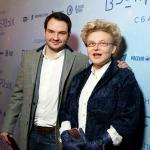 Пресс-волл для кинопремьеры Время Первых 2017
