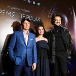 Пресс-волл для презентацииВремя Первых 2017