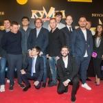 Прессволл для кинопремьеры Кухня Последняя битва команда фильма 2017