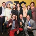 Пресс-волл презентация нового сезона телеканала СТС актеры сериала Молодежка Москва 2017