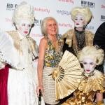 Пресс-волл вечеринка Хеллоуин  Хайди Клум - королева Хэллоуина 2017