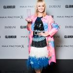 Пресс-волл фотозона  премия Женщина года 2018 по версии журнала Glamour Валерия Москва 2018