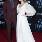 Пресс-волл фотозона премьера фильма Мэри Поппинс возвращается Джон Красински Эмили Блант Лос-Анджелес 2018