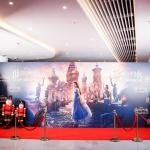 Пресс-волл фотозона премьера фильма Щелкунчик Зарядье Москва 2018